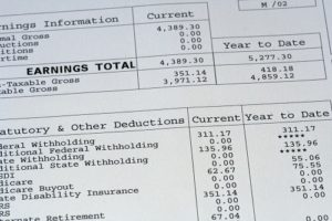 What is Considered Income for Spousal Support - Earnings From Wages